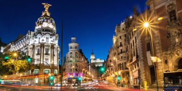 Gran Via, Madrid