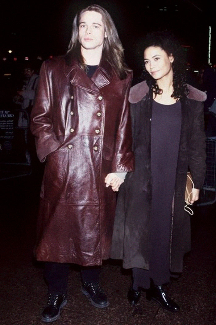 Brad Pitt ve Thandie Newton