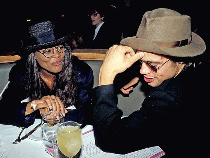 Brad Pitt ve Robin Givens