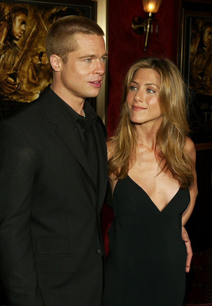 Brad Pitt ve Jennifer Aniston