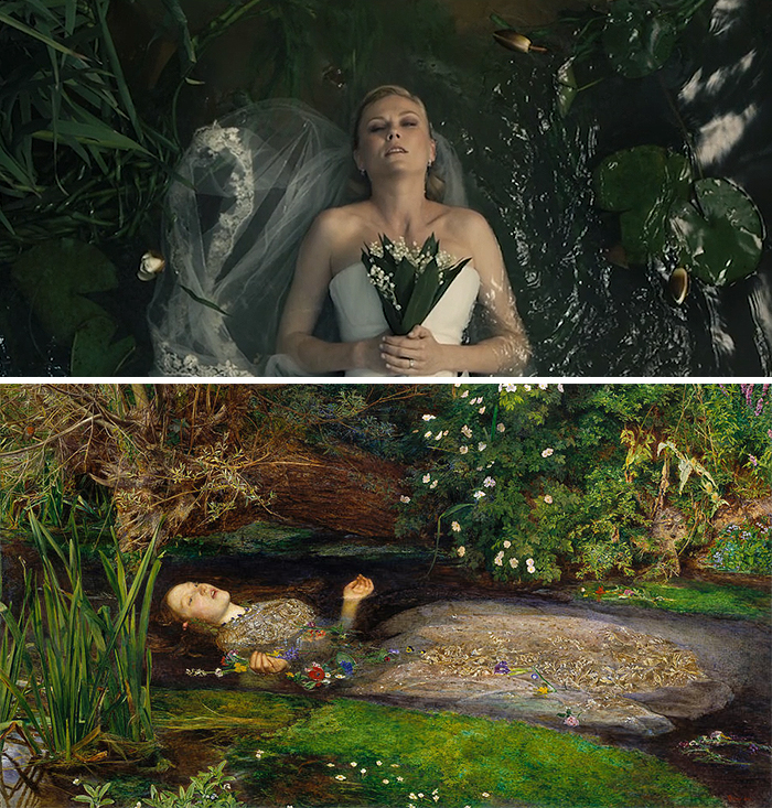 Film: Melancholia; Tablo: Ophelia