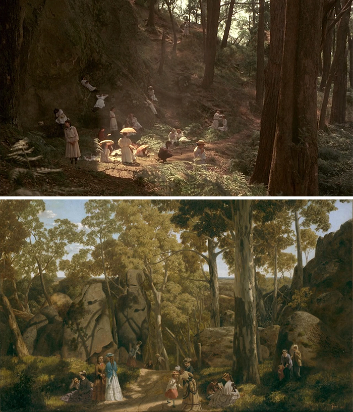 Film: Picnic At The Hanging Rock; Tablo: At The Hanging Rock