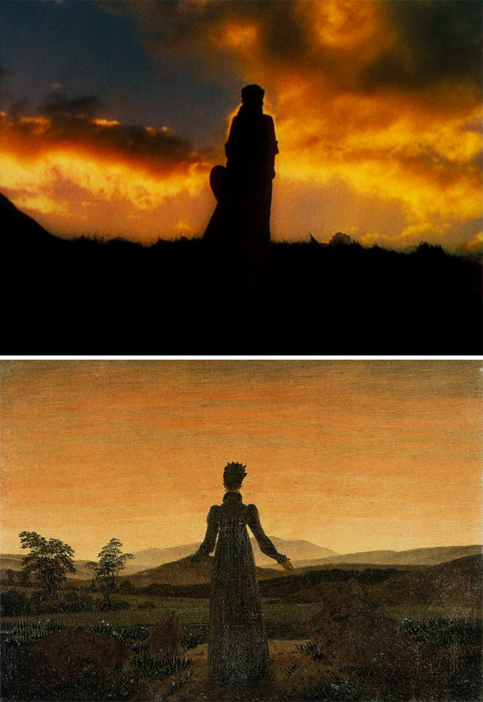 Film: Gone With The Wind; Tablo: Woman Before The Rising Sun