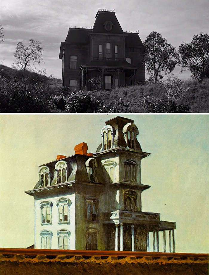 Film: Psycho; Tablo: House by the Railroad