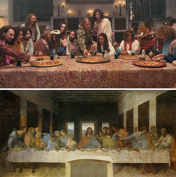 Film: İnherent Vice; Tablo: The Last Supper