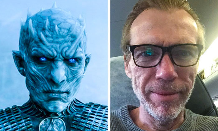 The Night King — Richard Brake