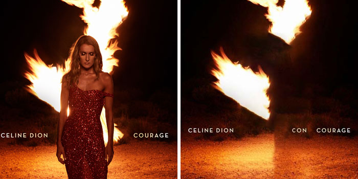 Celine Dion - Courage