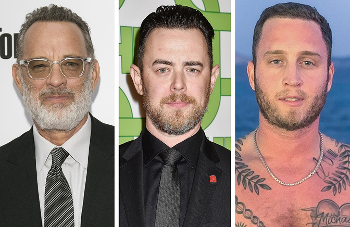 Tom Hanks, Colin Hanks ve Chet Hanks