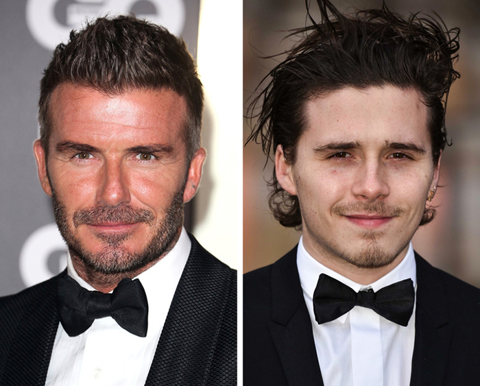 David Beckham ve Brooklyn Beckham