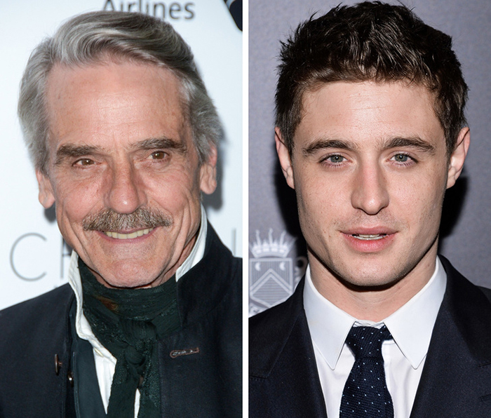 Jeremy Irons ve Max Irons