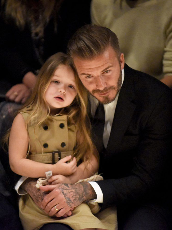 David Beckham ve kızı