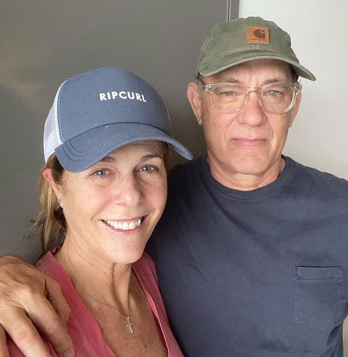 Tom Hanks ve eşi Rita Wilson