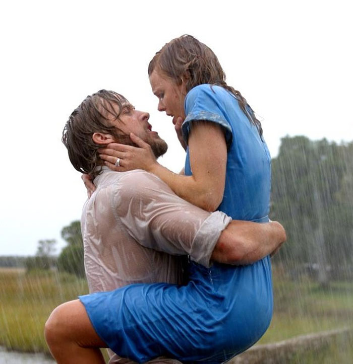 The Notebook filminden bir sahne