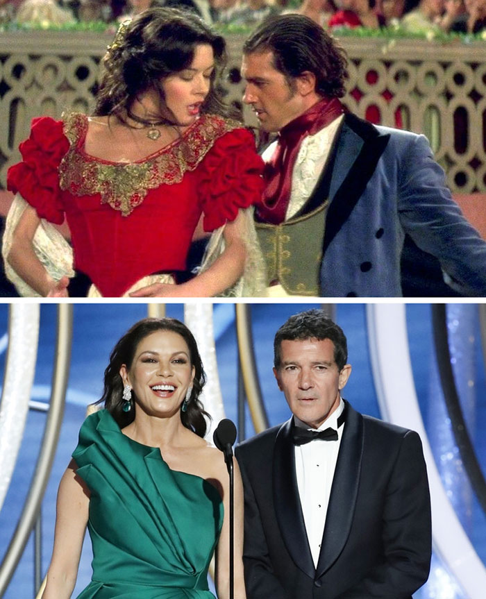 Antonio Banderas ve Catherine Zeta-Jones (The Mask of Zorro)