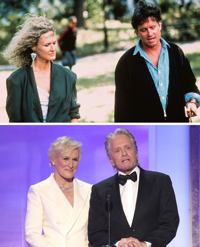 Michael Douglas ve Glenn Close (Fatal Attraction)