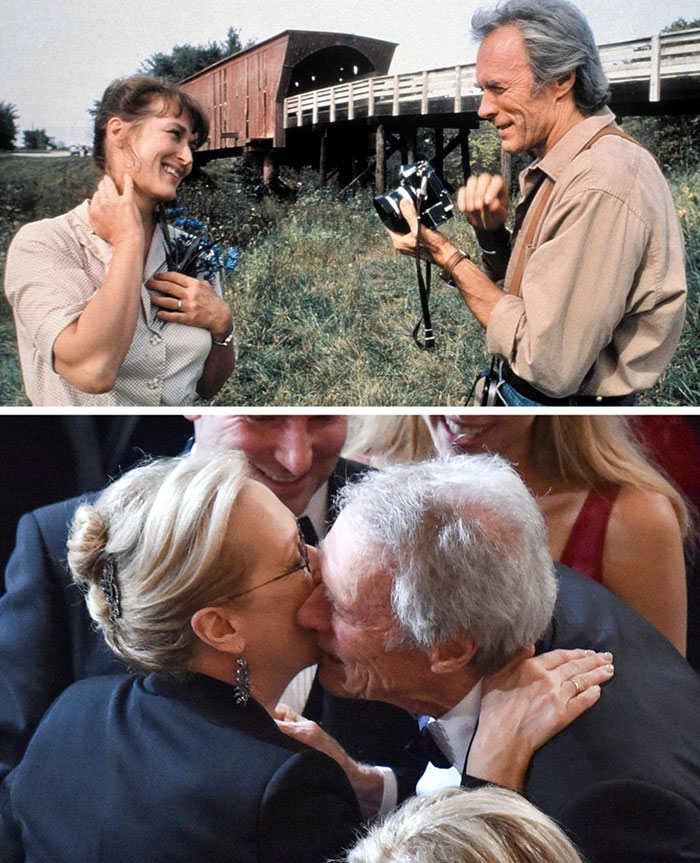 Meryl Streep ve Clint Eastwood (The Bridges of Madison County)