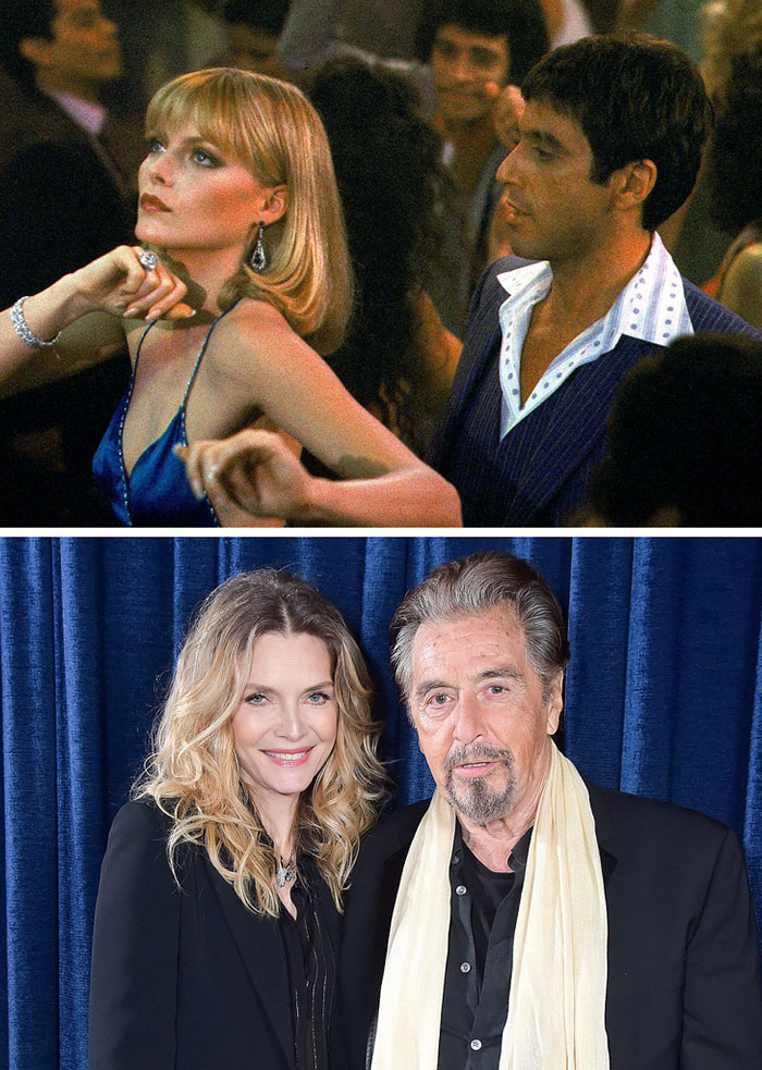Al Pacino ve Michelle Pfeiffer (Scarface)