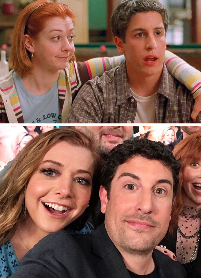 Alyson Hannigan ve Jason Biggs (American Pie)