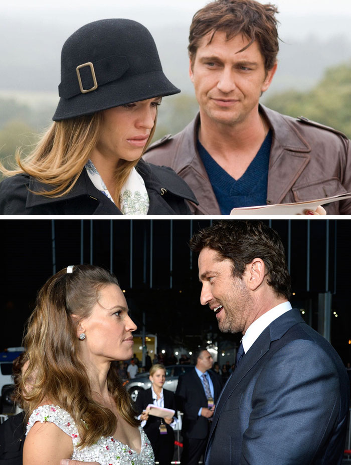 Hilary Swank ve Gerard Butler (P.S. I Love You)