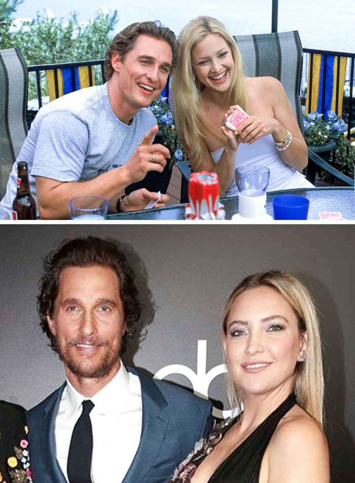 Kate Hudson ve Matthew McConaughey (How to Lose a Guy in 10 Days)