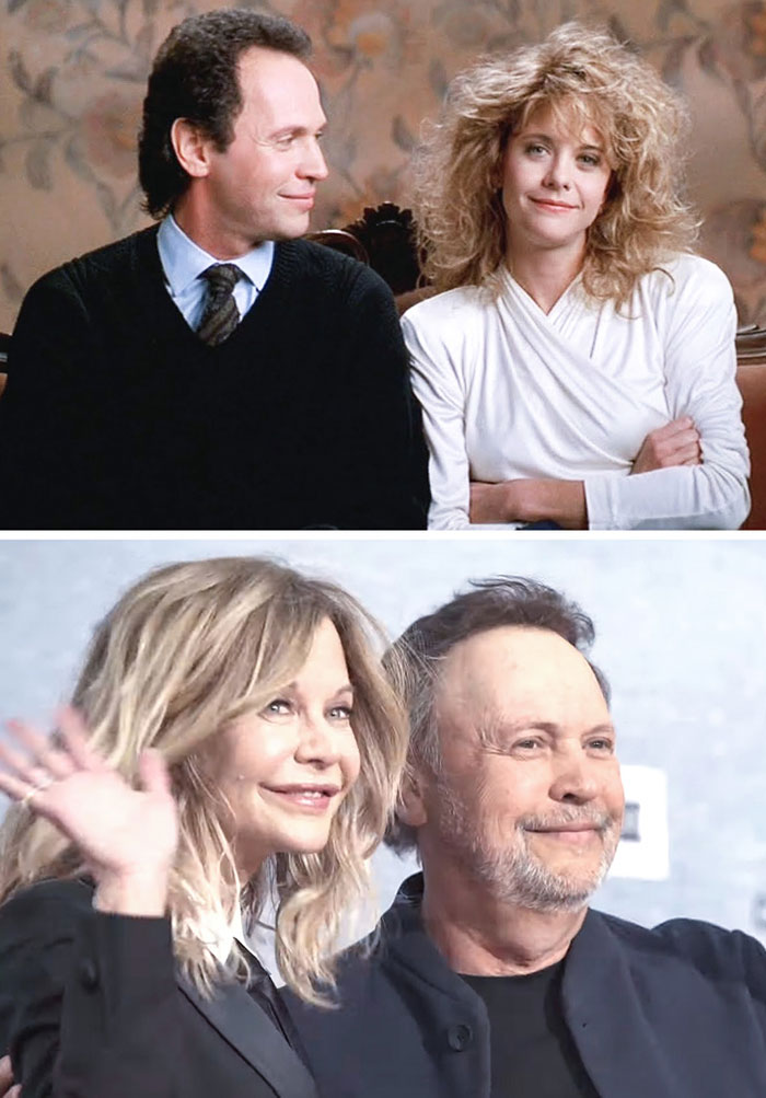Meg Ryan ve Billy Crystal (When Harry Met Sally)