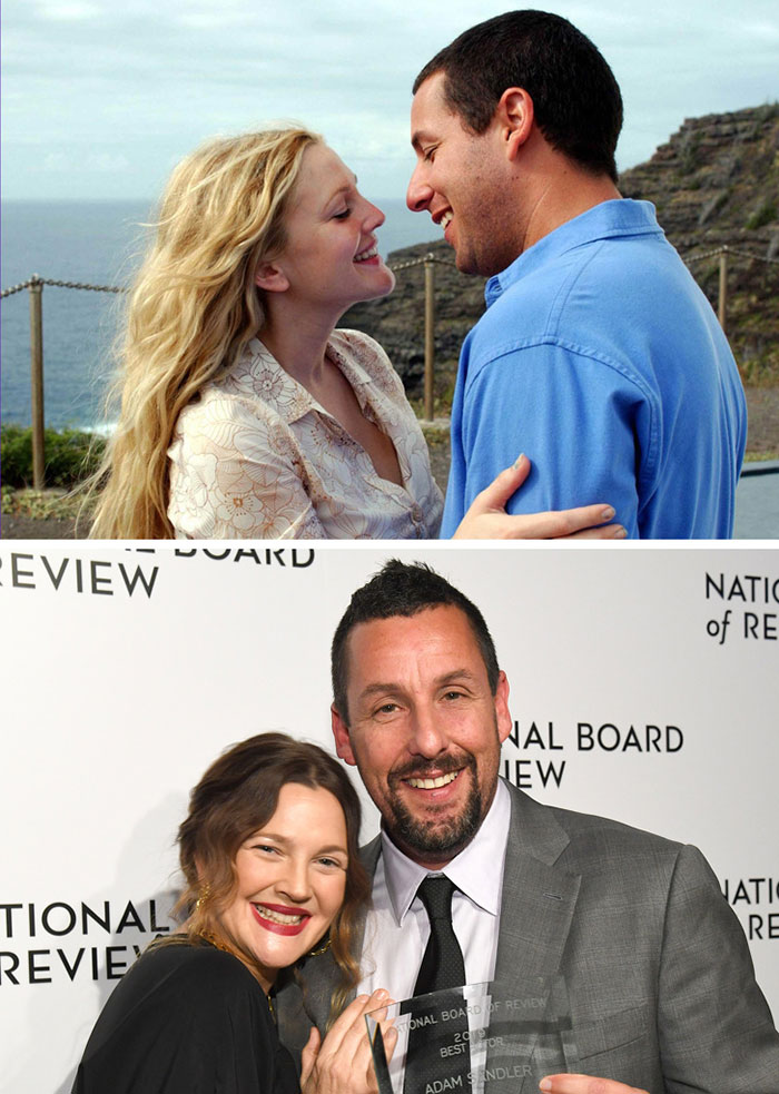 Adam Sandler ve Drew Barrymore (50 First Dates)