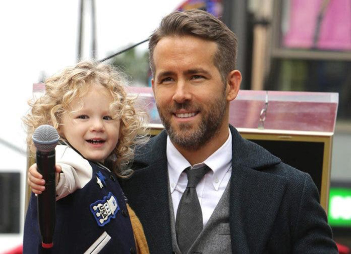 Ryan Reynolds ve oğlu