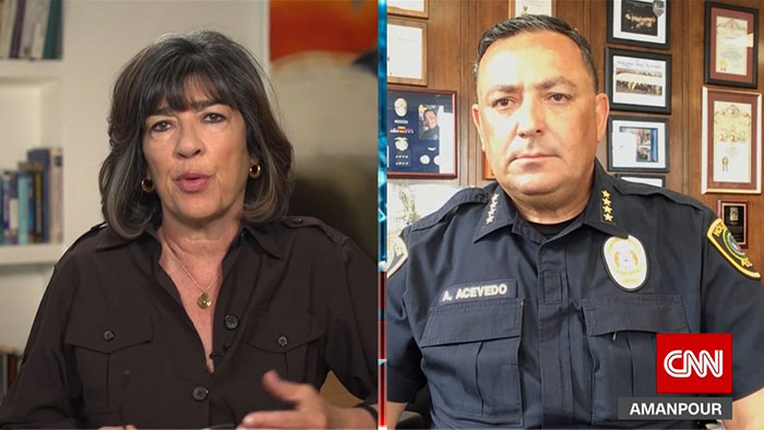 Art Acevado ve Christina Amanpour