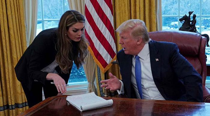 Hope Hicks ve Trump