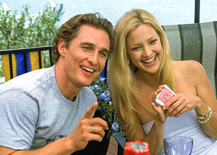 Matthew McConaughey ve Kate Hudson (Ben ve Andie, How to Lose a Guy in 10 Days)