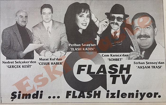 Flash TV reklamı.
