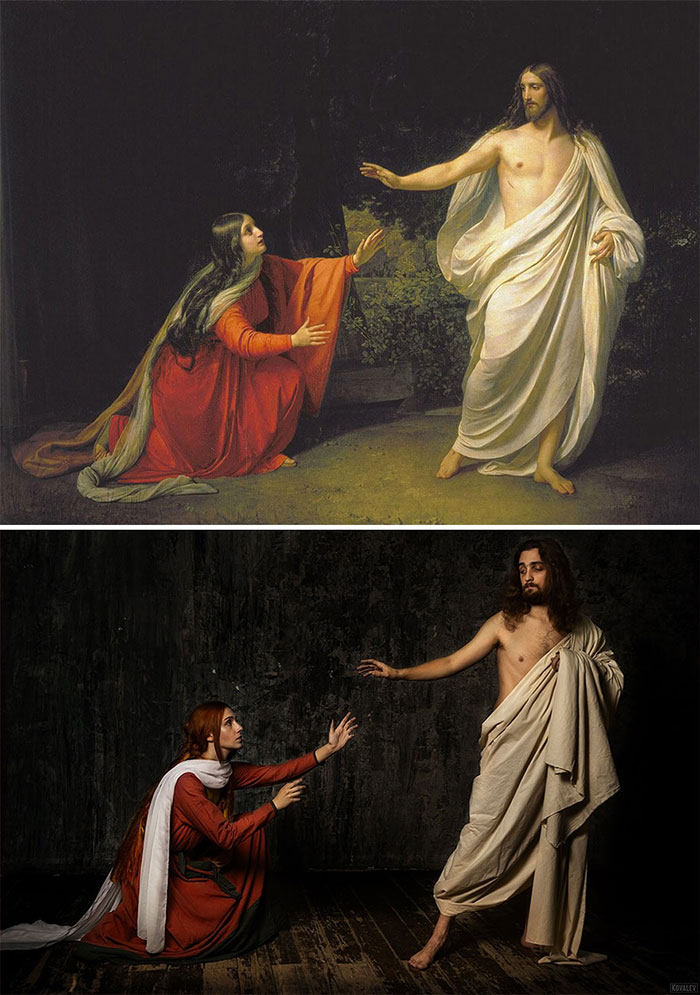 Maria Magdalena and Jesus