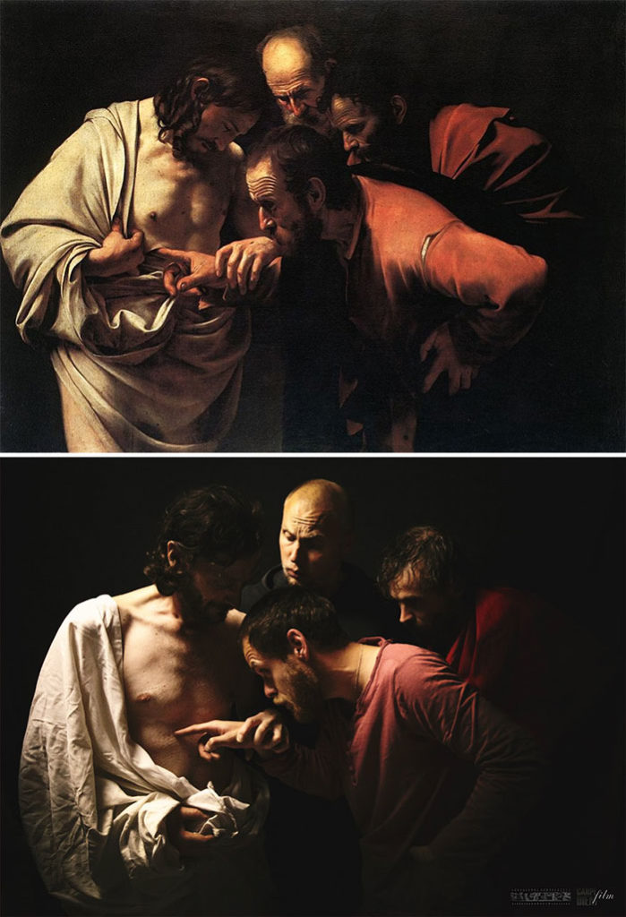 Caravaggio, The Incredulity of Saint Thomas